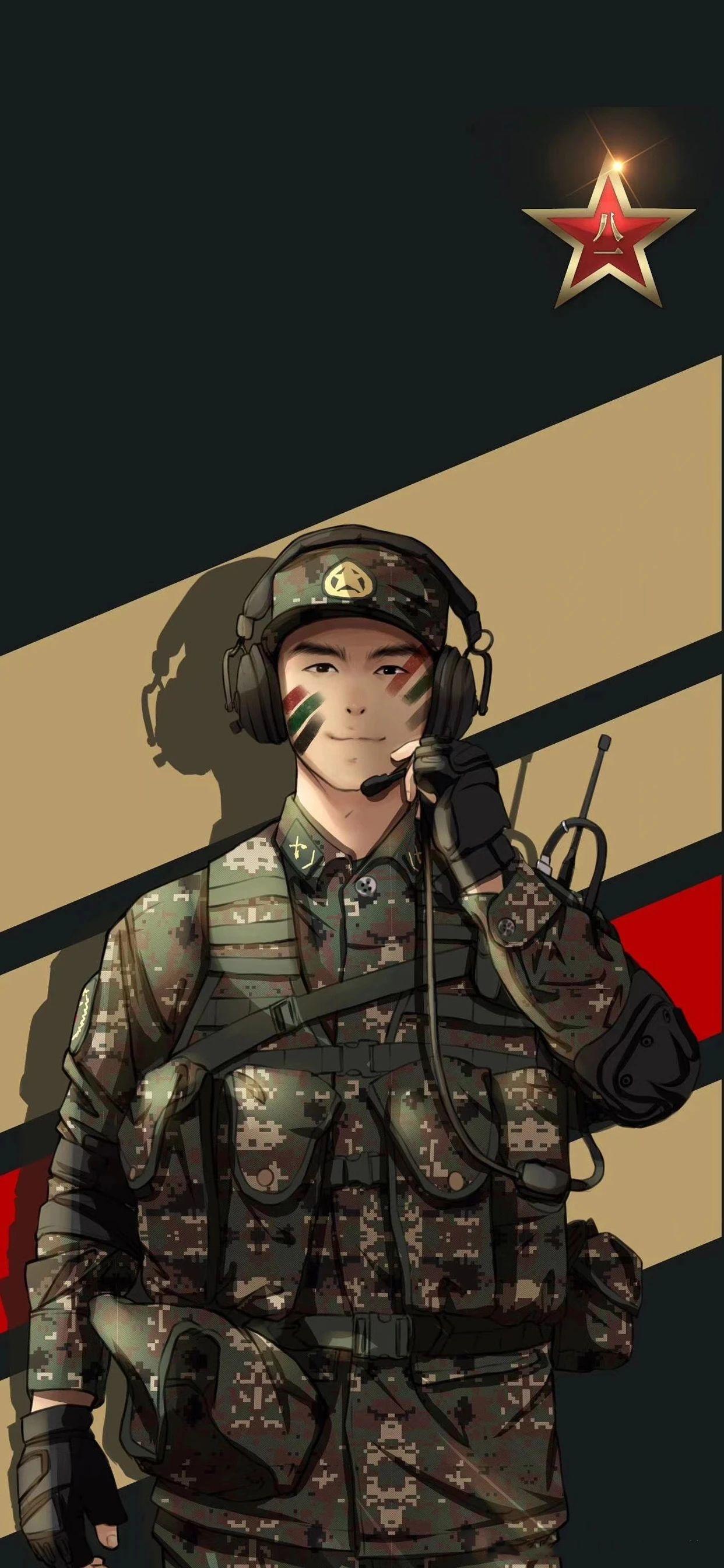 5f4fac4a82033 - 军人壁纸:哪有什么岁月静好,不过是有人替你负重前行
