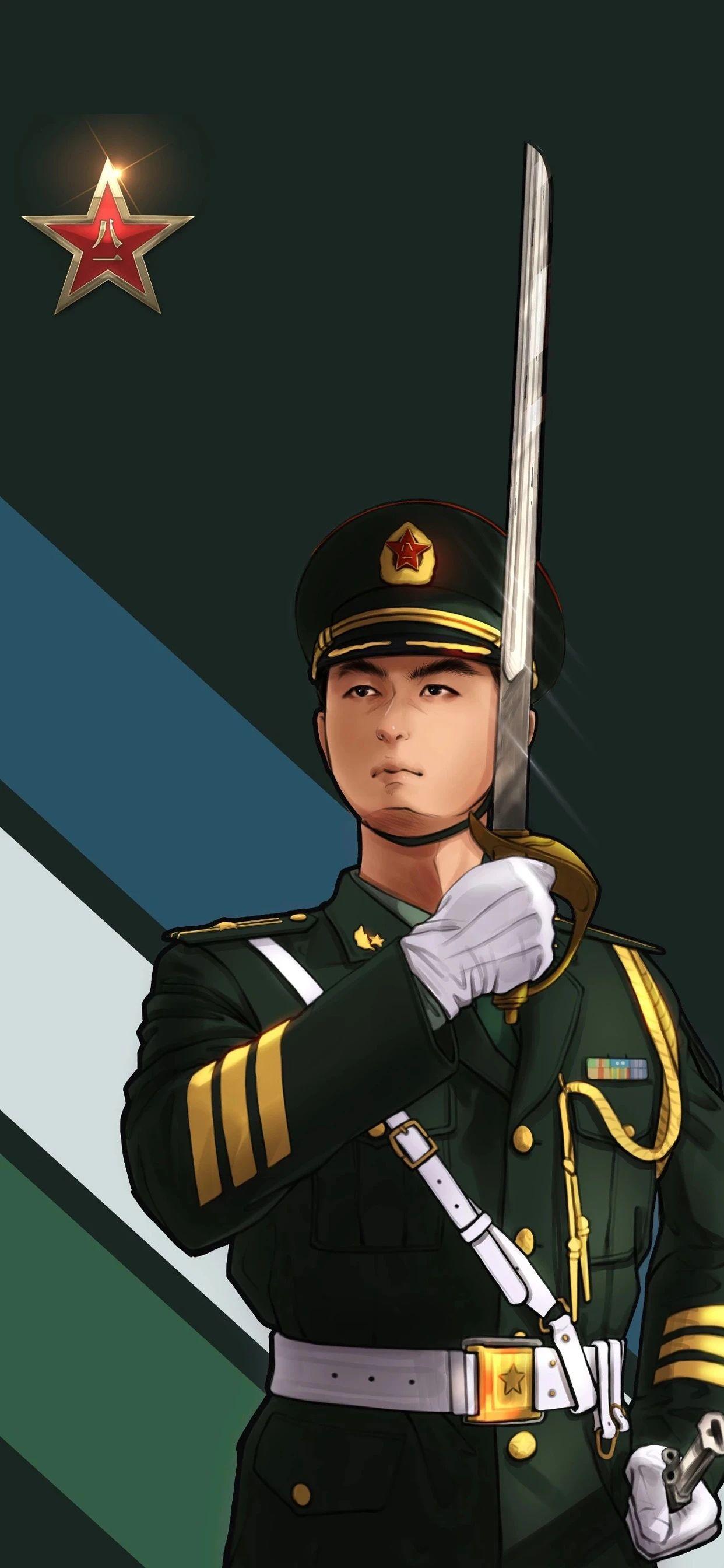 5f4fac4a8b23c - 军人壁纸:哪有什么岁月静好,不过是有人替你负重前行