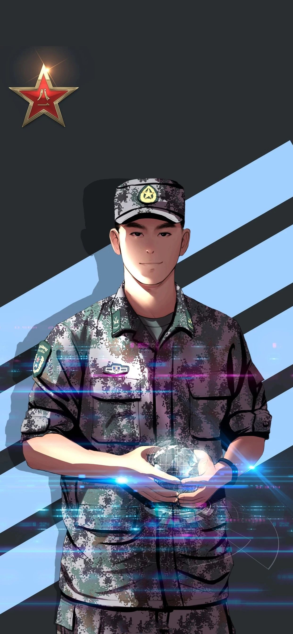 5f4fac4aa9a47 - 军人壁纸:哪有什么岁月静好,不过是有人替你负重前行