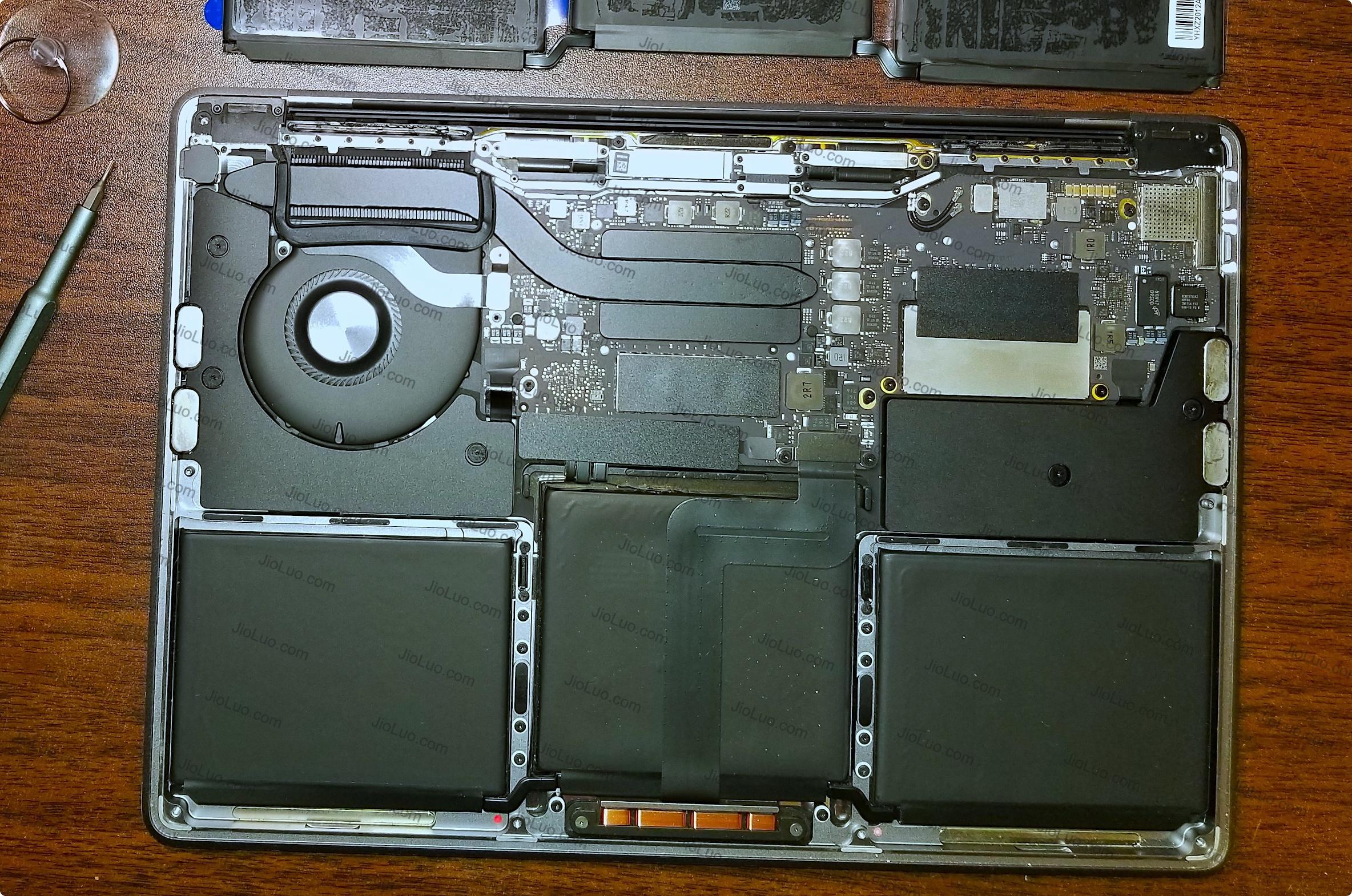 教程 | 教你轻松更换13寸 MacBook Pro (A1708) 的电池(苹果笔记本更换电池)插图11