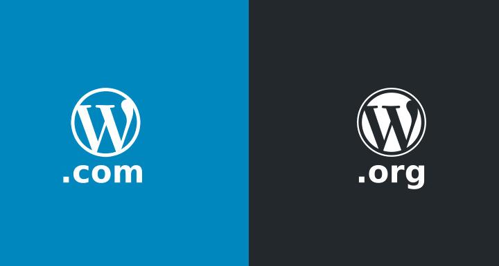 网站建站程序WordPress.com与WordPress.org的区别插图1