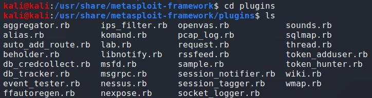 plugins目录