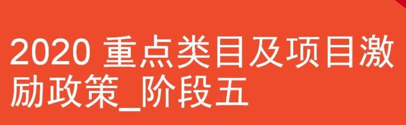 Shopee虾皮平台2020年重点类目及项目(第五阶段)激励政策公布-虾皮路