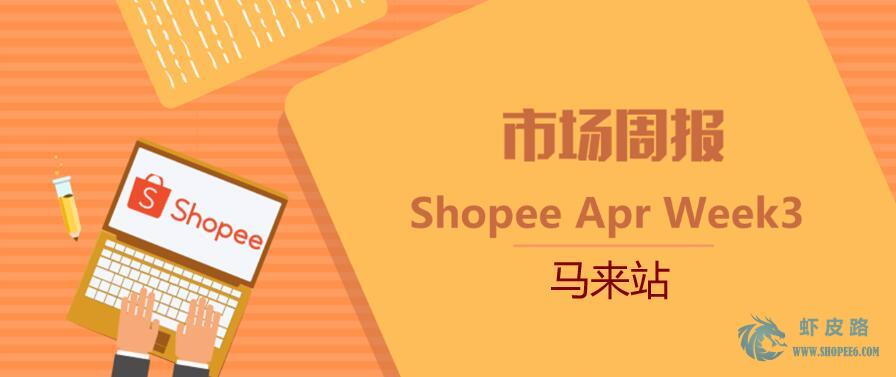 【Shopee市场周报】Shopee虾皮马来站20年4月第3周市场周报发布-虾皮路