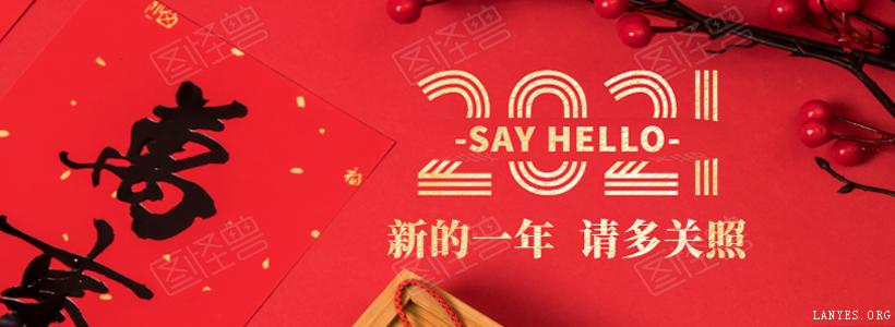 蓝叶祝您2021元旦快乐