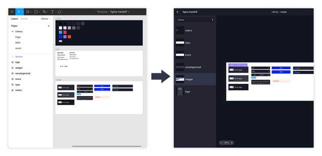 单独的组件和样式 page