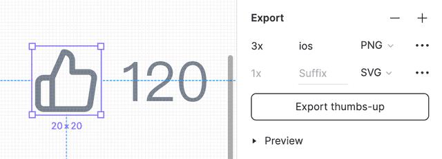Export 设置