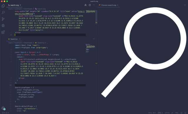 图标组件代码