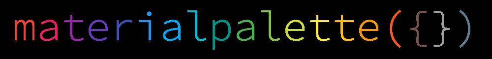 Material Palette Generator