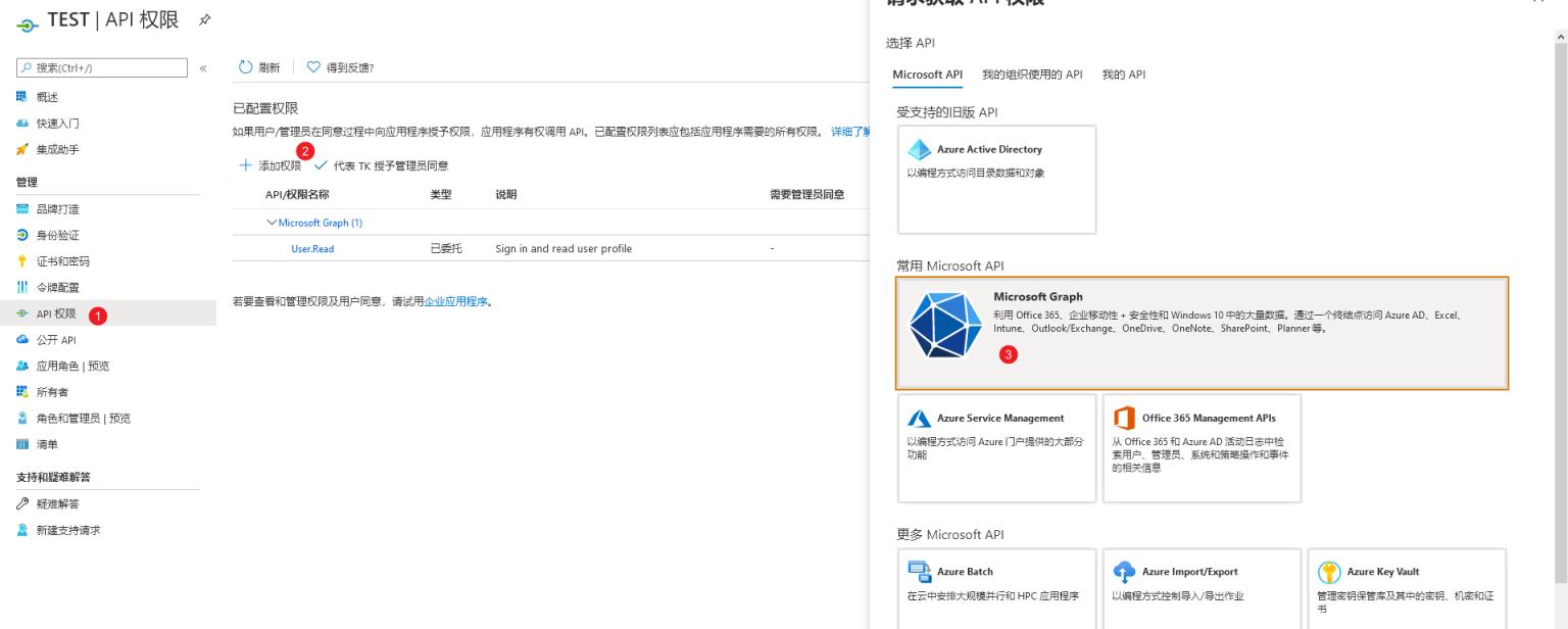 适用于世纪互联的 Azure空全局 + 独享API