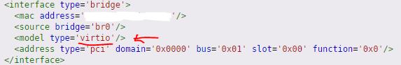网卡桥接默认模式