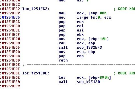 IDA sp-analysis failed不能F5的解决方案