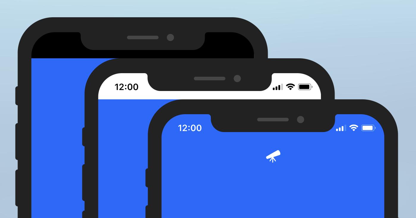 更改Progressive Web App应用程序的iOS状态栏