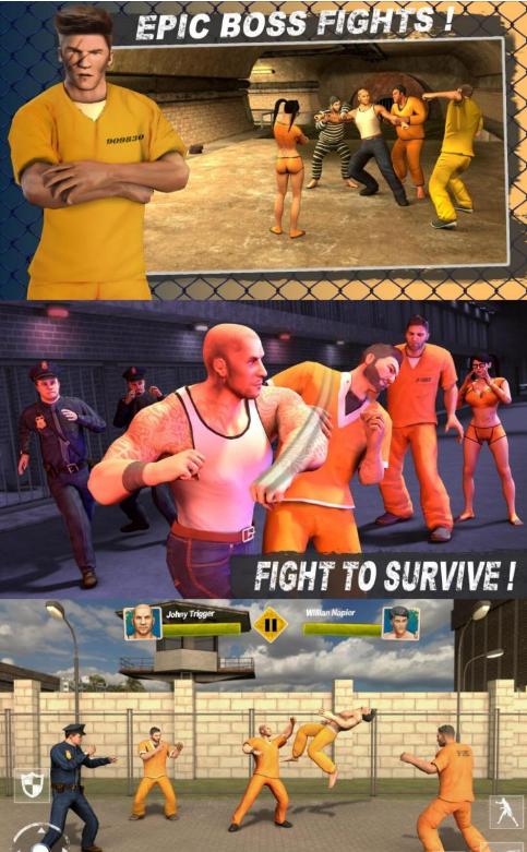 监狱囚犯v2.5一款最近热门的动作格斗手游/解锁版
