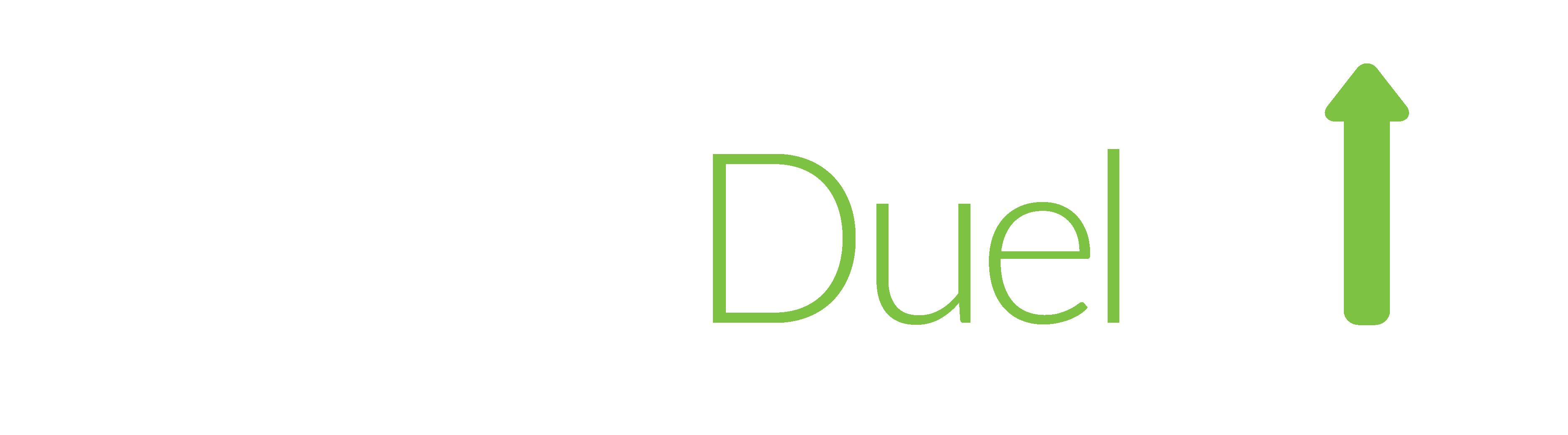 Logo of Trade Duel. Virtual trades. Real market data.
