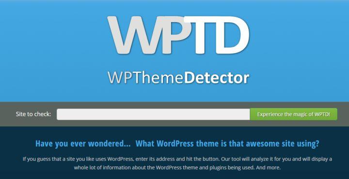wordpress网站主题怎么查询?了解别人用的啥主题