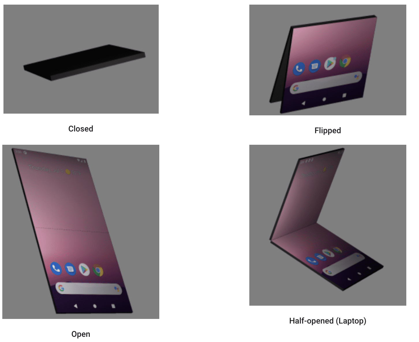 Android 可折叠设备