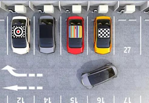 常用停车技巧图文教学(侧、斜方位+倒车入库+停车场)