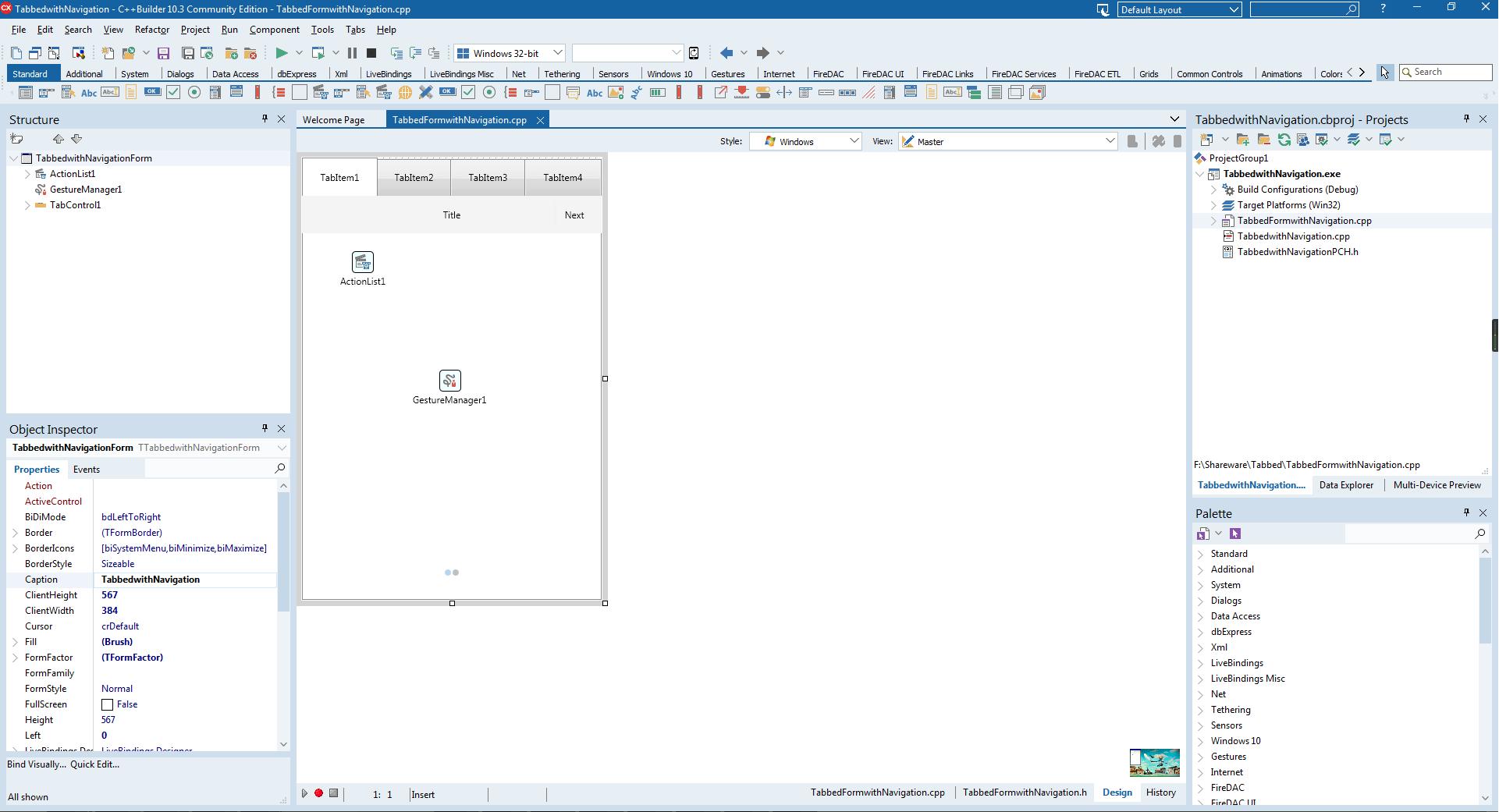 FMX界面设计