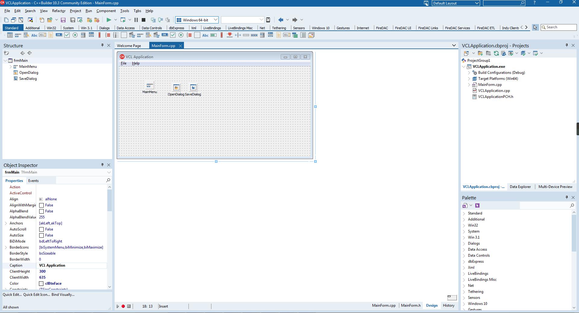 VCL界面设计