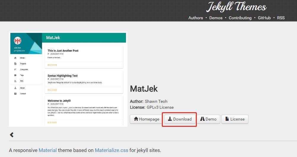 利用 Github+Jeklly 搭建个人博客网站