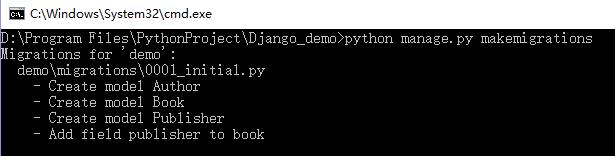 Django 学习笔记之模型(上)