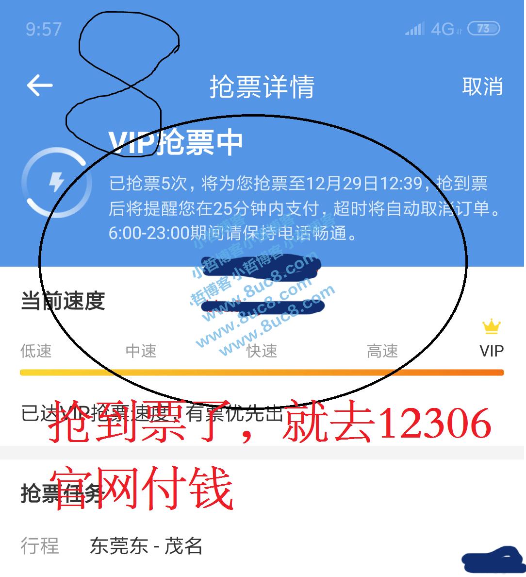 智行4.2去收费加速包免费抢票 (https://www.8uc8.com/) 软件工具 第8张