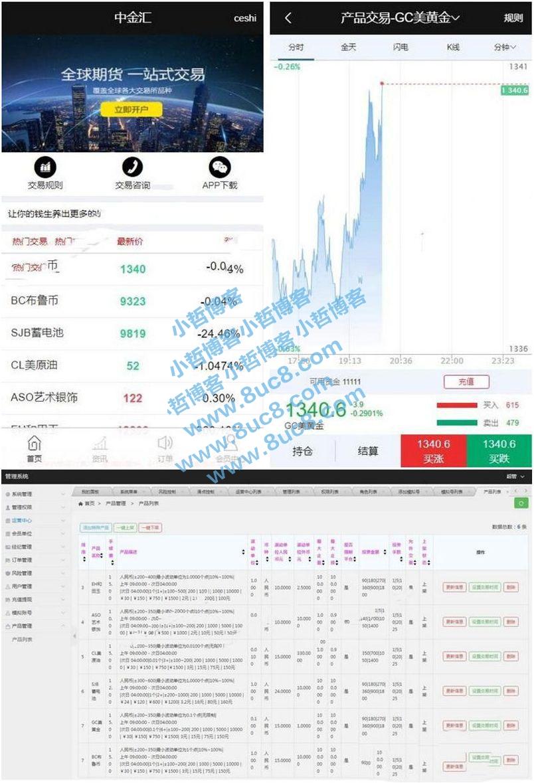 2019年6月YII二次开发微交易微盘微期货点位盘系统源码 (https://www.8uc8.com/) 源码下载 第1张
