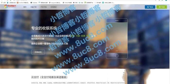 全解HACK彩虹易支付超完整源码+内附11套模板插图