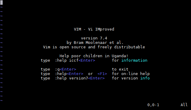 vim-interface