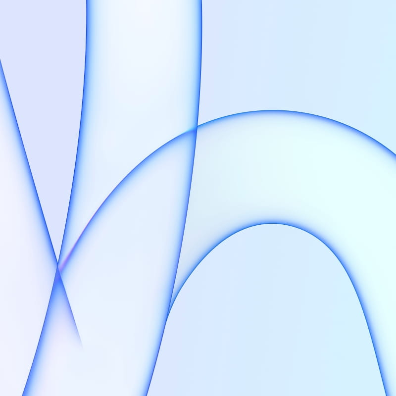 iMac 2021 Blue
