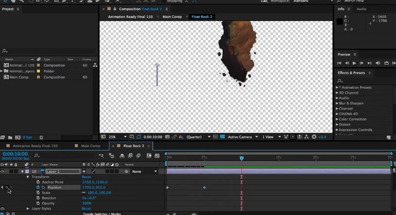 AE与PS游戏开始界面制作视频学习教程