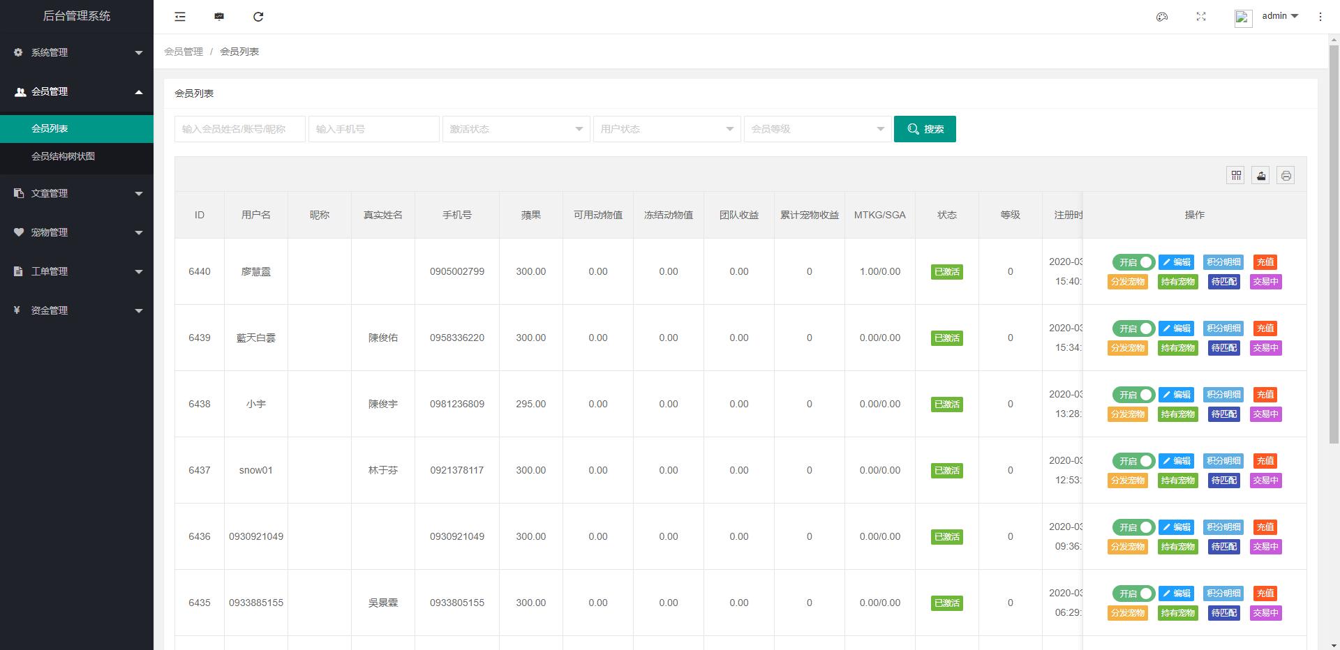 区块链宠物源码、最新森林绿UI养殖收益投资理财系统[签到+团队+实名]手机移动端网站源码下载