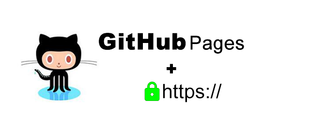enable https for GitHub Pages