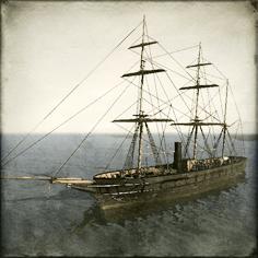 Boshin_Naval_Inf_Corvette_Kanrin_Maru Image