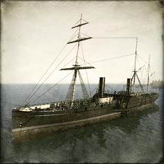 Boshin_Naval_Inf_Corvette_Kasuga Image