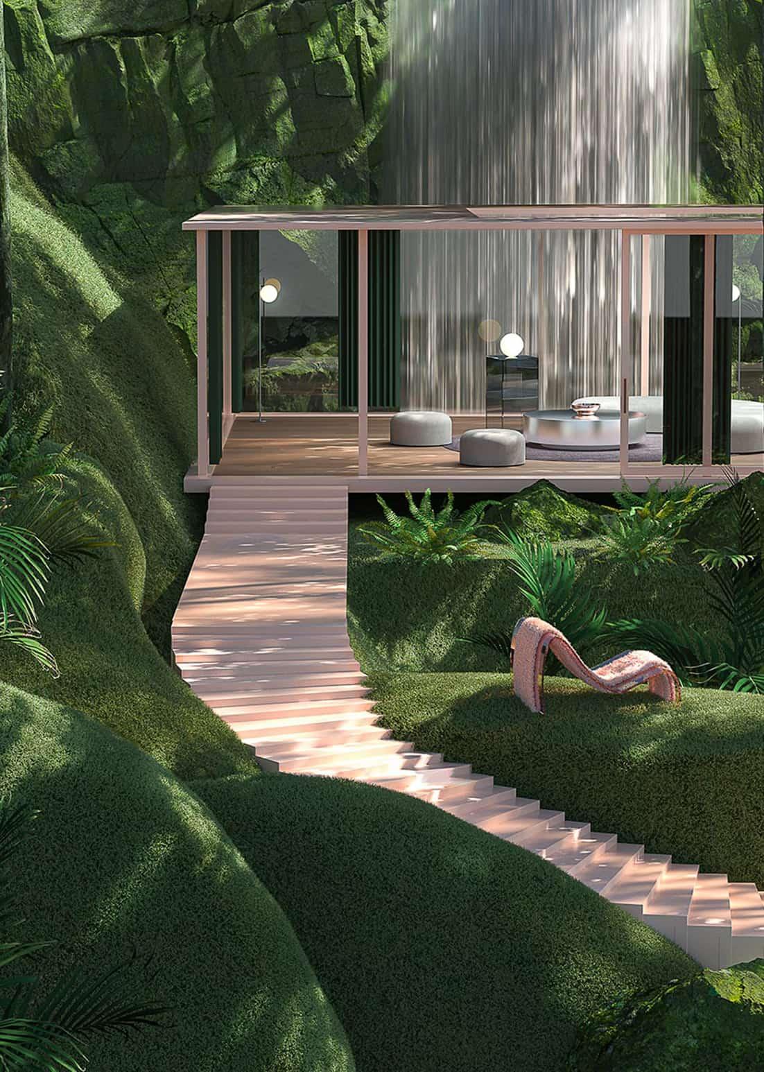Loftgarten Grass House by Paul Milinski