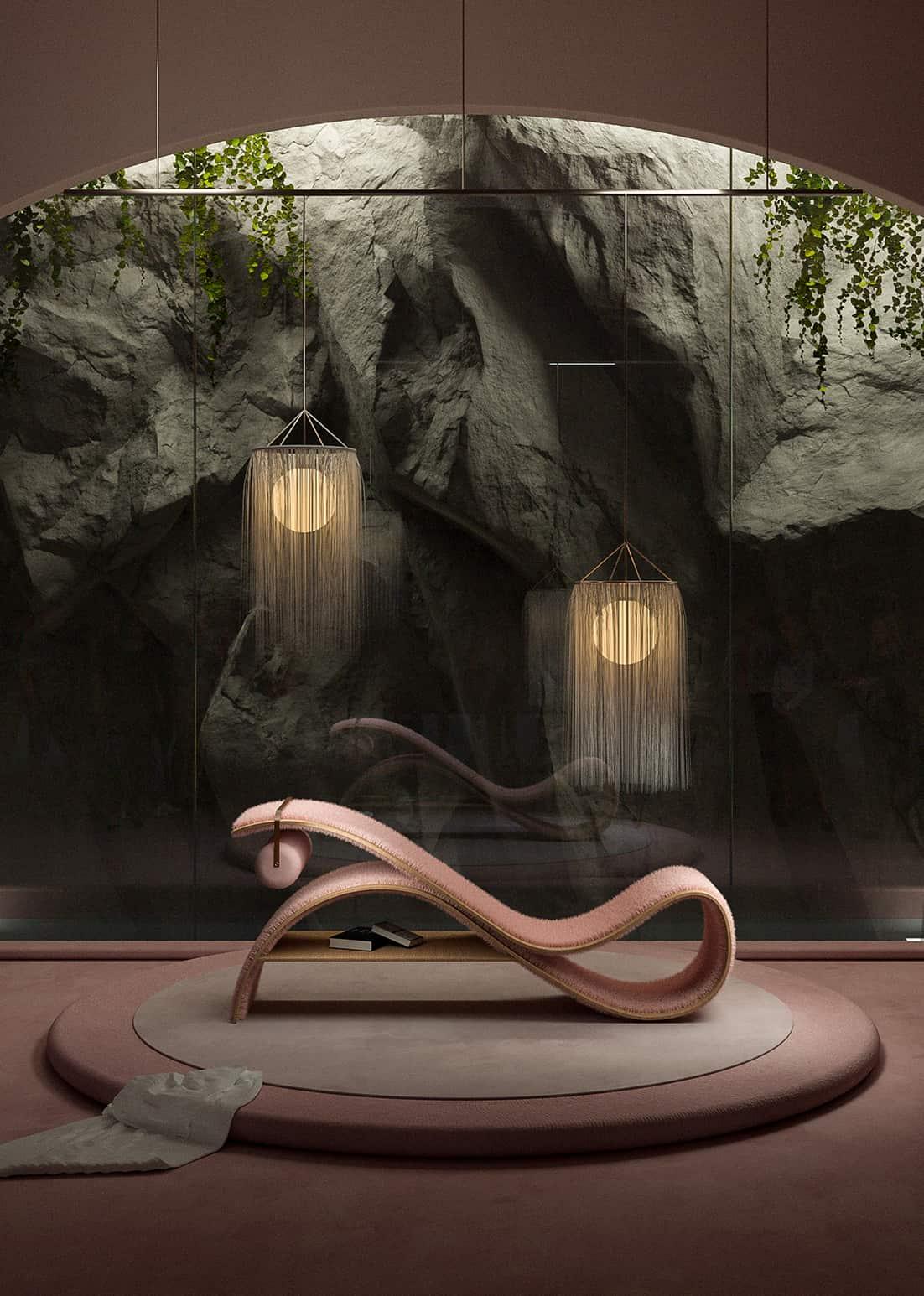 Loftgarten Towel Chair by Paul Milinski