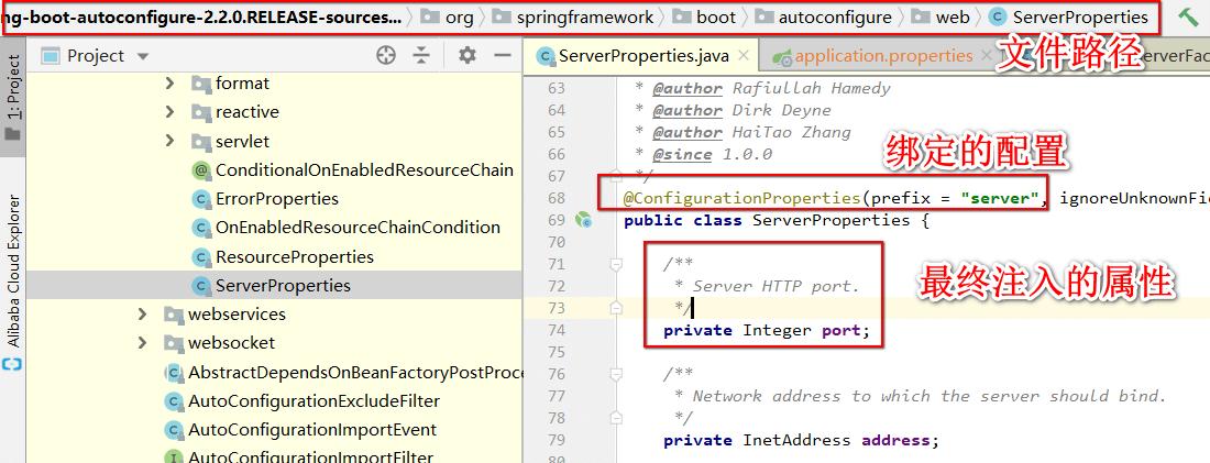 Server 属性配置