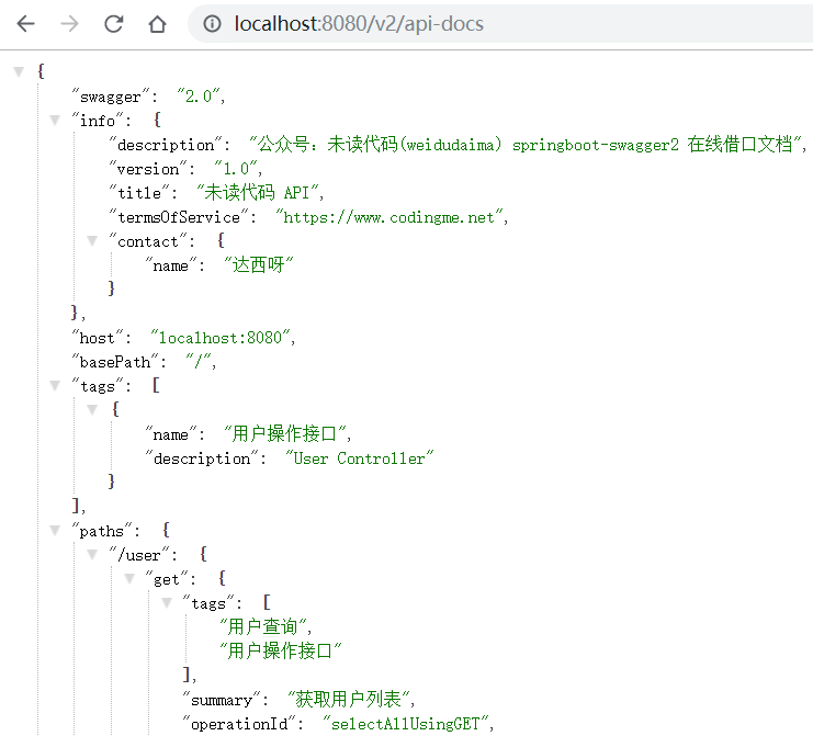 OpenAPI - JSON