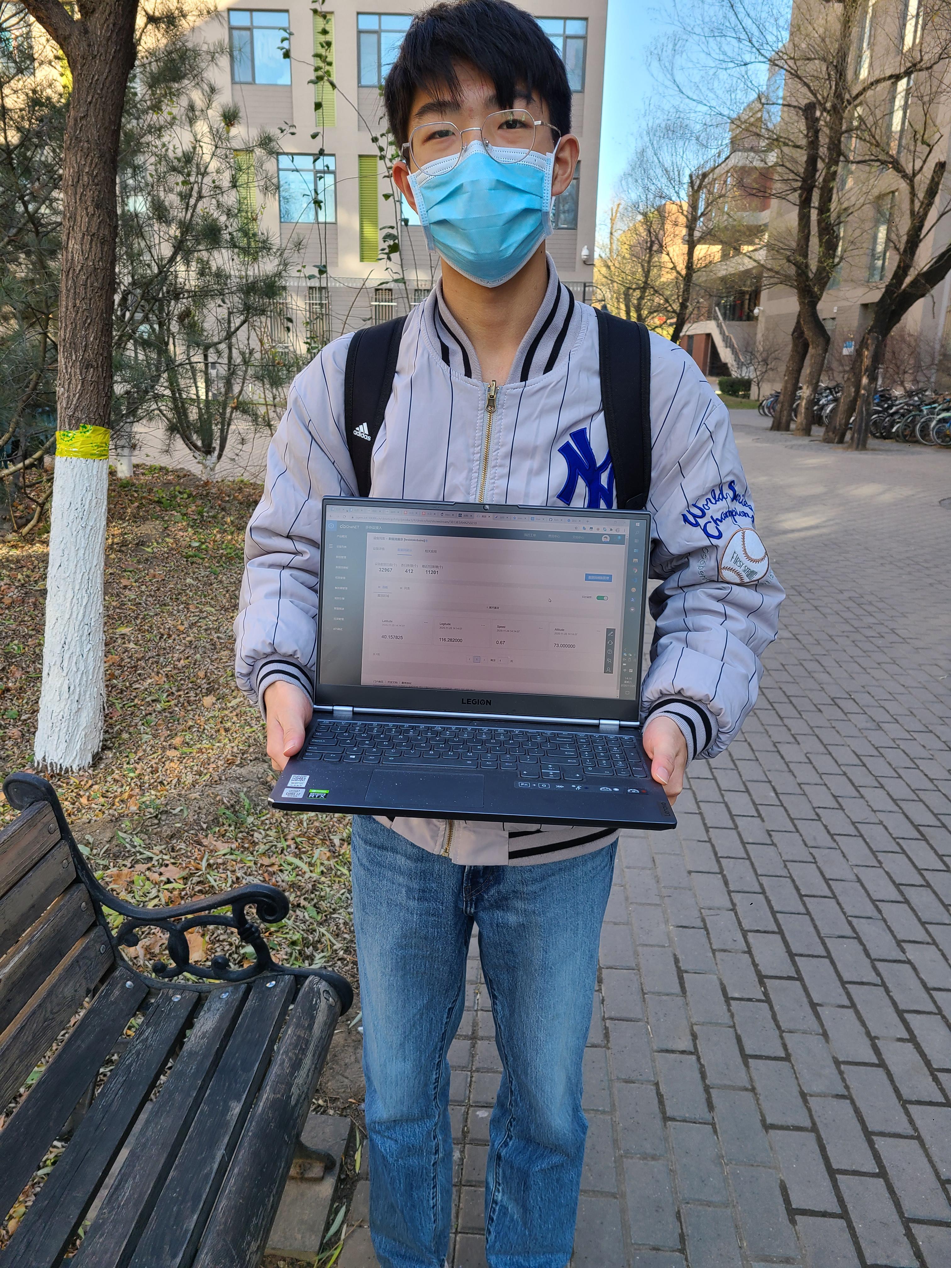 调试工具人: 移动电脑架