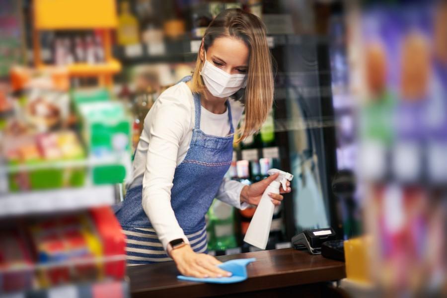 Reinigung Einzelhandel