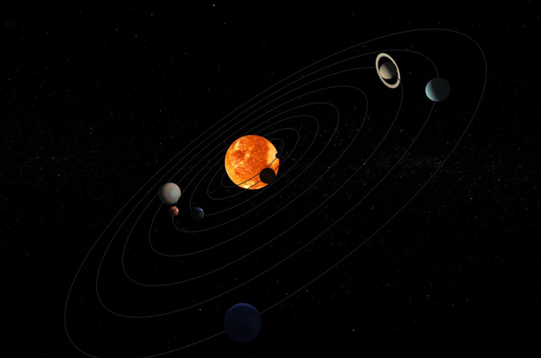 webgl行星