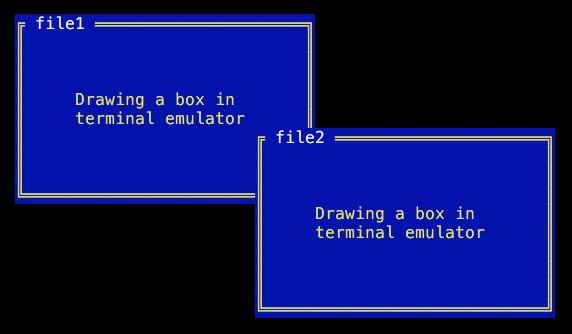 Box drawing