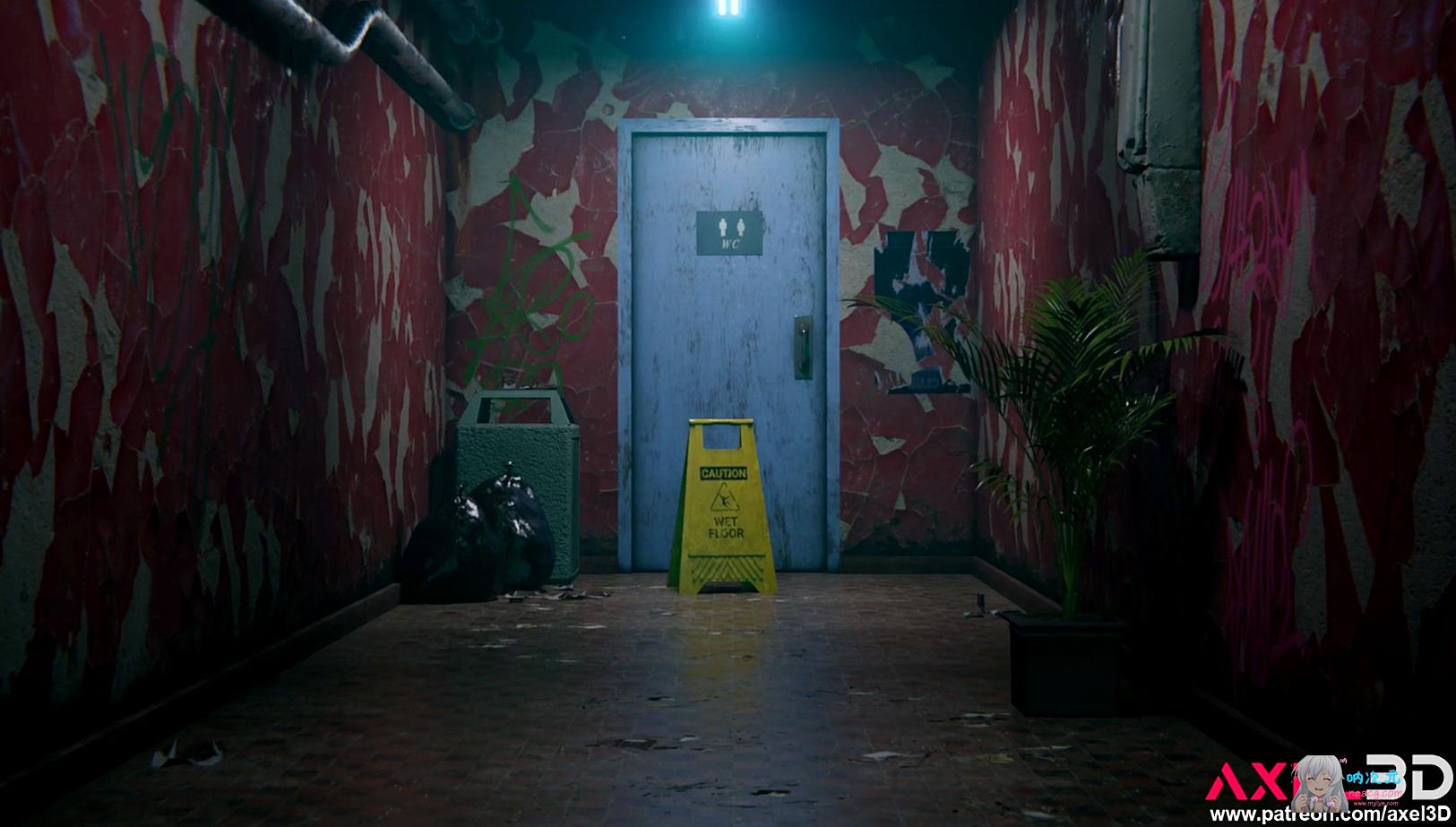 [Axel3D]新大佬:小洞洞用中-蒂法的夜间新兼职【3D同人/步兵/全动态/全CV/1080P】