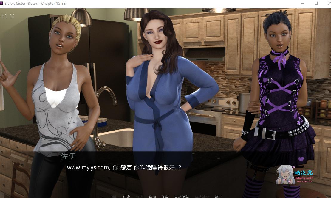 【欧美SLG】后宫姐妹淘:Sister V15精翻汉化完结版+全CG【新汉化/动态/PC+安卓/4G】
