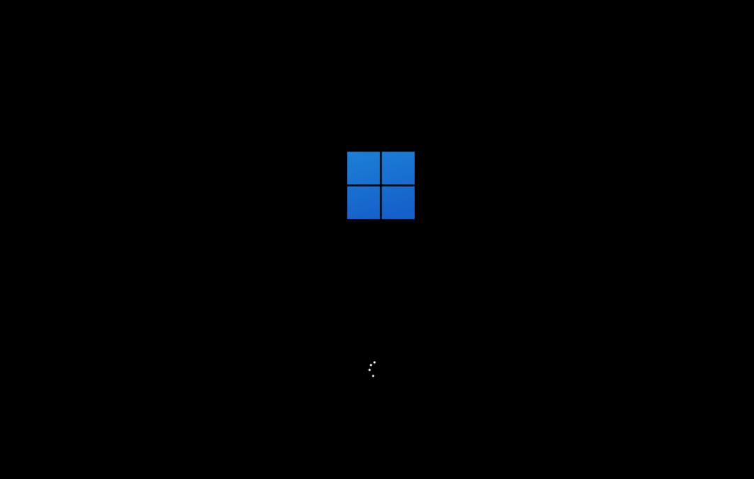 Windows 11开机logo