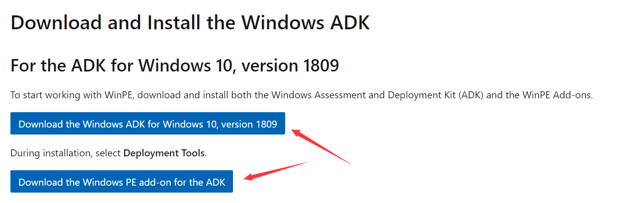 下载Windows ADK