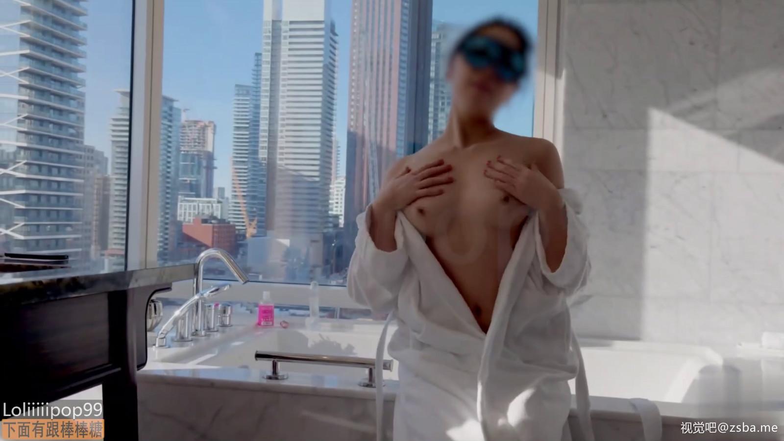 视觉吧@极品网红[下面有根棒棒糖]全景浴缸戏美人[1V/158MB]插图1