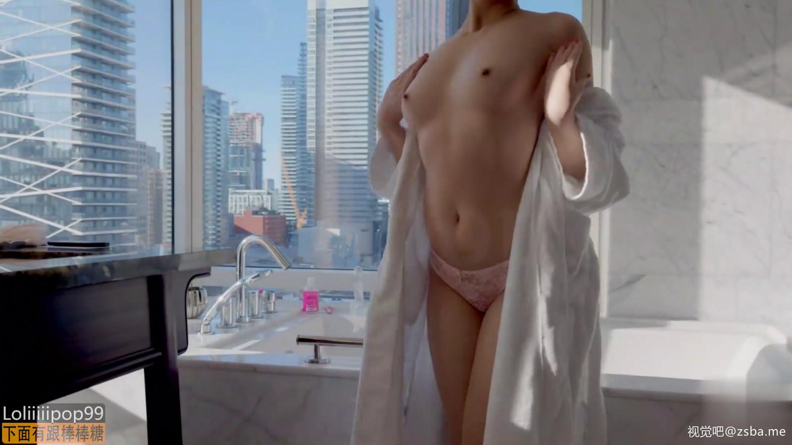 视觉吧@极品网红[下面有根棒棒糖]全景浴缸戏美人[1V/158MB]插图3